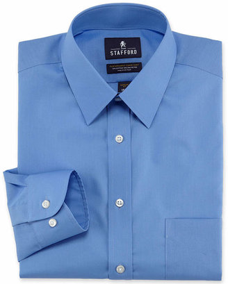 STAFFORD Stafford Men's Regular-Fit Easy-Care Dress Shirt