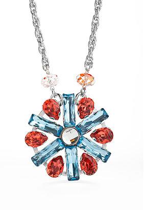Jimmy Crystal New York Starburst Crystal Pendant Necklace