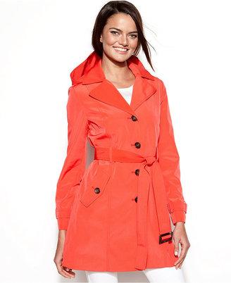 Calvin Klein Hooded Trench Coat