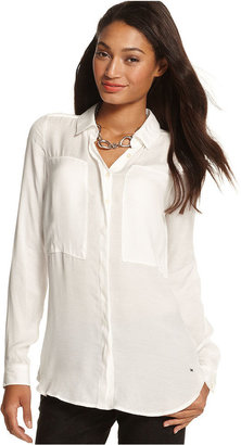 Tommy Hilfiger Long-Sleeve Blouse
