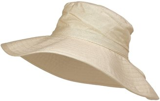 Scala Collezione Cotton Canvas Hat - UPF 50 (For Women)
