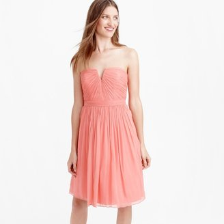 J.Crew Nadia dress in silk chiffon