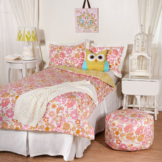Bed Bath & Beyond Lolli Living(TM) by Living Textiles Baby Twin Bedding - Whimsy/Damask Comforter & Sham Set