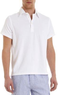 Vilebrequin Terry Cloth Short Sleeve Polo
