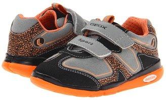 Geox Kids - Baby Runner Boy 7 (Toddler) (Grey/Orange) - Footwear