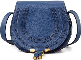 Chloé Marcie Small Crossbody Satchel Bag, Navy