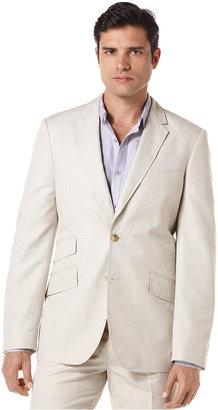 Cubavera Blazer, Linen-Blend Herringbone Blazer