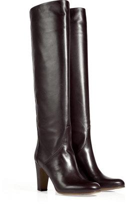 L'Autre Chose LAutre Chose Mocha Mid-Heel Knee Boots