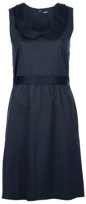 Jil Sander Navy Peter Pan collar dress