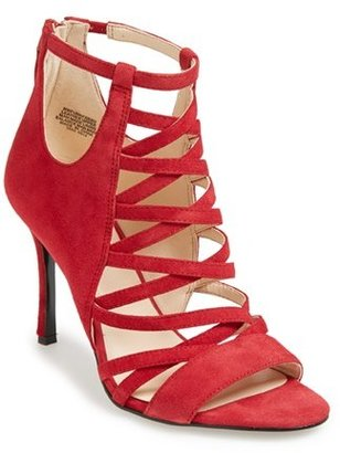 Nine West 'Funkfresh' Strappy Leather Sandal (Women)