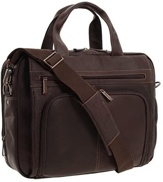 Kenneth Cole Reaction Out of the Bag - 5 to 6 1/2 Double Gusset Expandable Top Zip Portfolio Computer Case