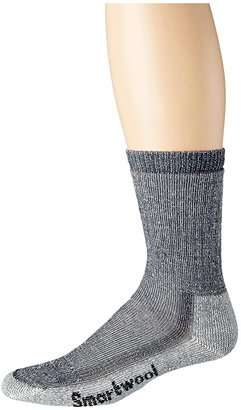 Smartwool Hike Medium Crew (Navy) Crew Cut Socks Shoes
