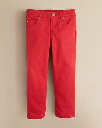Aqua Girls' Jewel Tone Skinny Jeans - Sizes 4-6X