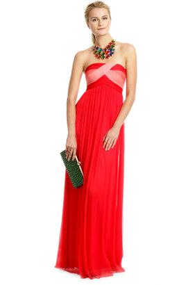 Carlos Miele Citrus Kiss Gown