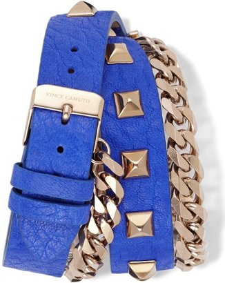 Vince Camuto Studded Double Wrap Watch