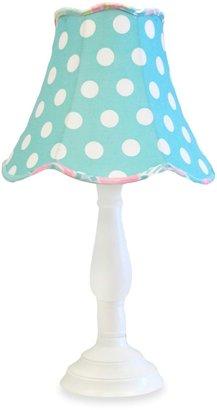 My Baby Sam Pixie Baby Lamp & Shade in Aqua