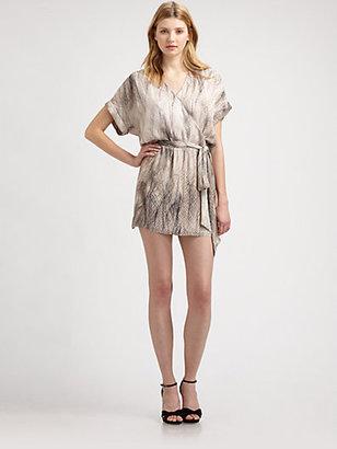 Haute Hippie Silk Dolman Dress