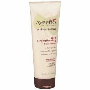 Aveeno Active Naturals Positively Ageless Skin Strengthening Body Cream