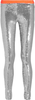Sass & Bide Opposing Forces sequined jersey leggings