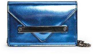 MANGO Outlet Metallic Shoulder Bag
