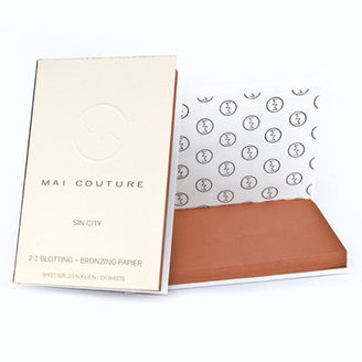 Mai Couture 2 in 1 bronze and blot papers (sin city)