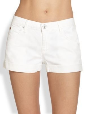 Hudson Hampton Denim Cuff Shorts