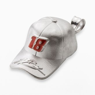 "Insignia Collection NASCAR Kyle Busch Sterling Silver ""18"" Baseball Cap Pendant"