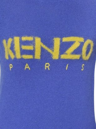 Kenzo Logo Wool Knit Sweater