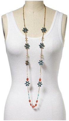 Juicy Couture Tinley Road Faceted Flower Necklace