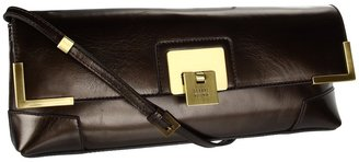 Stuart Weitzman Clipper (Cafe Pearl Kid) - Bags and Luggage