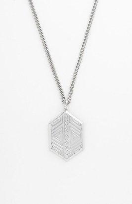 Vince Camuto 'Tribal Fusion' Shield Pendant Necklace