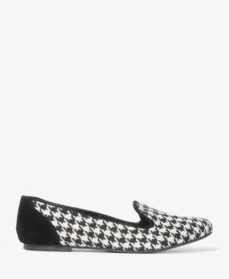 Forever 21 Houndstooth Loafers