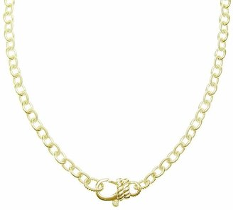 """Judith Ripka Madison 30"""" Chain Necklace, Sterling 14K Clad"""