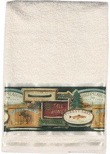 Avanti Rather Be Fishing 3-Piece Towel Set