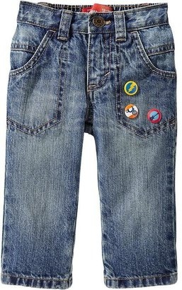 Old Navy Graphic-Pin Regular-Fit Jeans for Baby