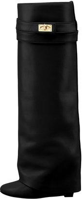 Givenchy Shark Lock Fold-Over Boot