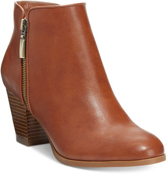 Style& Co. Jamila Zip Booties, Only at Macy's $79.50 thestylecure.com