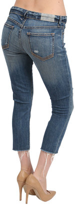 TEXTILE Elizabeth and James Gibson Cutoff Jeans in Blue