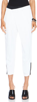 Helmut Lang Origami Poly Pant
