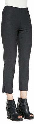 Brunello Cucinelli Cropped Lightweight Wool-Blend Pants