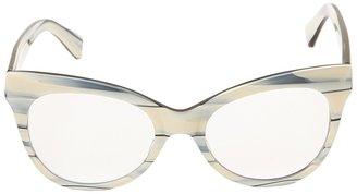 Norma Kamali KAMALIKULTURE by Square Cat Eye Glasses