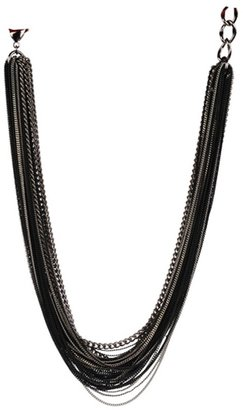 Adia Kibur Multi Layers Chain Necklace