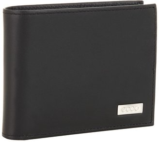 Ecco Nashville Flap Wallet (Black) - Bags and Luggage