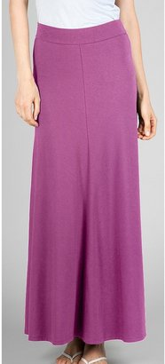 Lilla P Bias Cut Maxi Skirt - Stretch Pima Cotton-Modal (For Women)