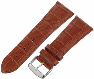 Hadley Roma Hadley-Roma Men's 28mm Leather Watch Strap