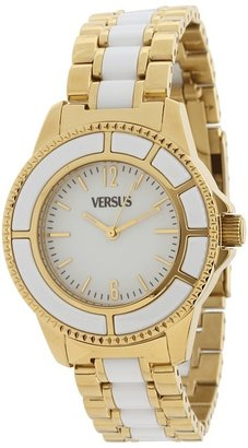 Versace Versus Tokyo 38 MM - AL13SBQ701 A071 (Gold/White) - Jewelry
