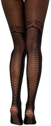 Foot Traffic The Lace Up Faux Thigh High