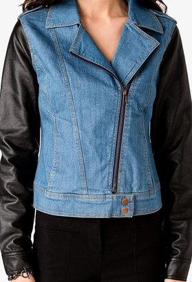 Forever 21 Cool-Girl Moto Jacket