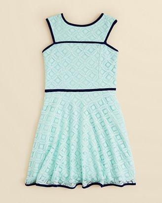 Sally Miller Girls' Lace Dakota Dress - Big Kid $88 thestylecure.com