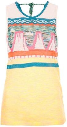 Tsumori Chisato fine knit tank top
